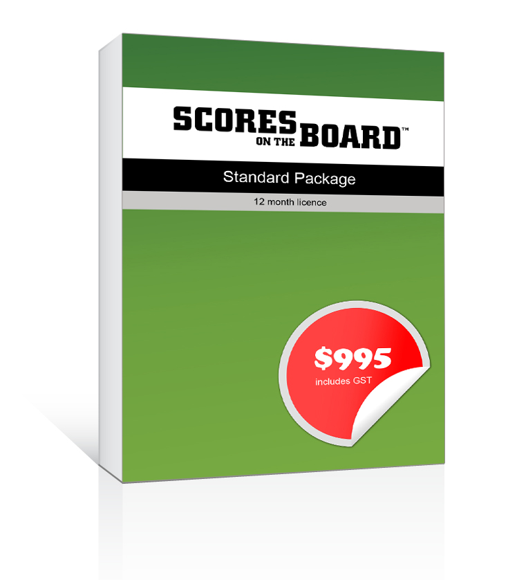 Scores on the Board - Standard Package